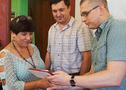 Юбилейные медали получили сотрудники управляющей компании «Октябрьская»